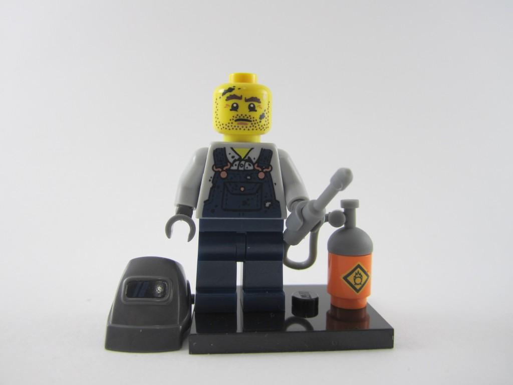 Lego Collectible Minifigures Welder Unmasked