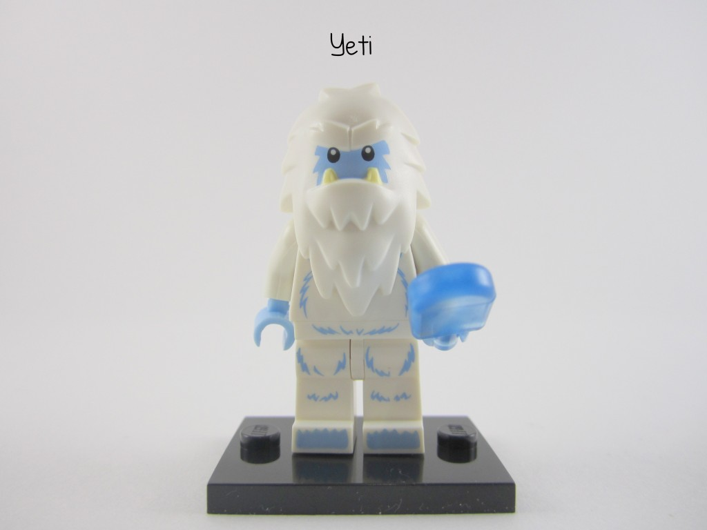 Lego Collectible Minifigures Yeti