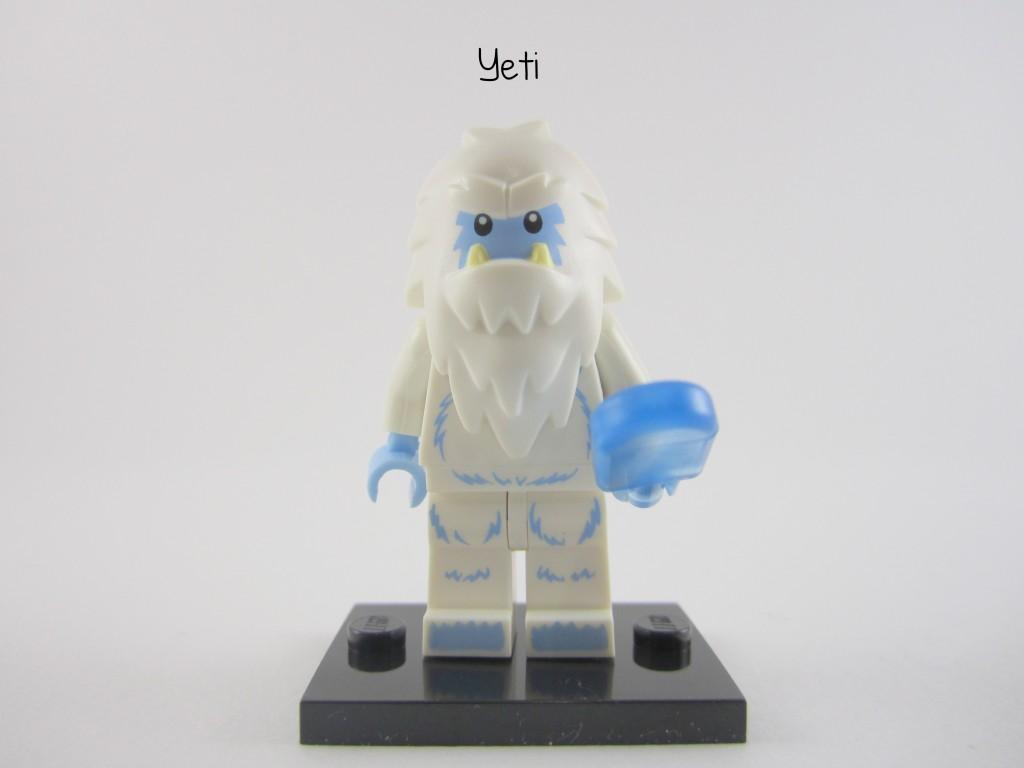 Lego Collectible Minifigures Yeti