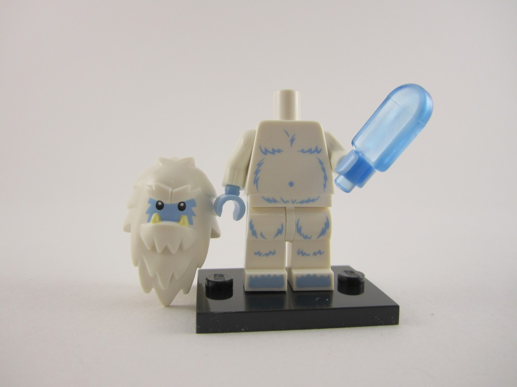Lego Collectible Minifigures Yeti Ice Cream