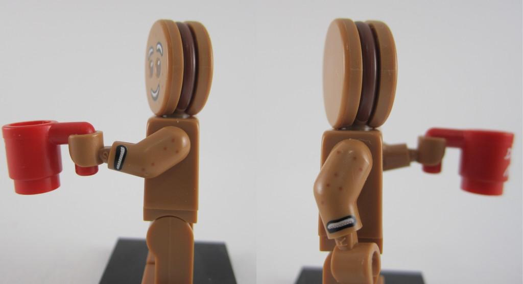 Lego Minifigures Series 11 - Gingerbread Man Side