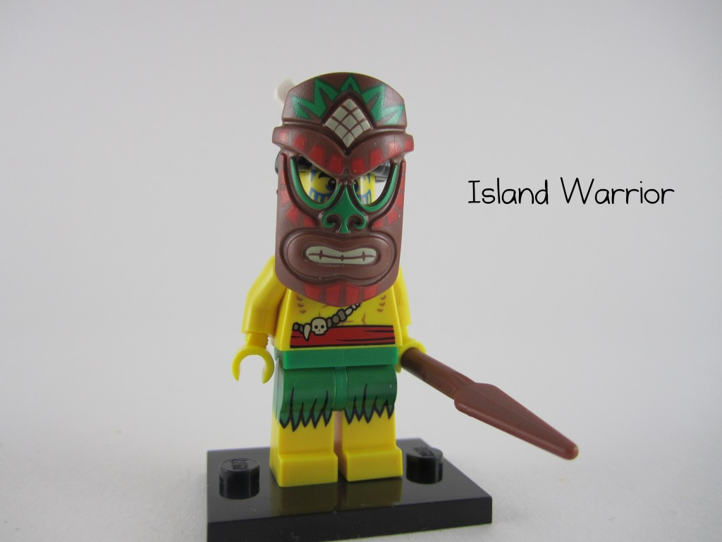 Tiki Warrior Minifig