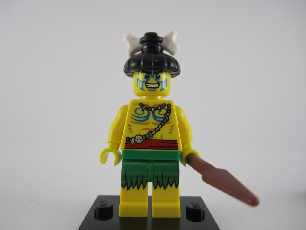 Lego Minifigures Series 11 - Island Warrior Unmasked