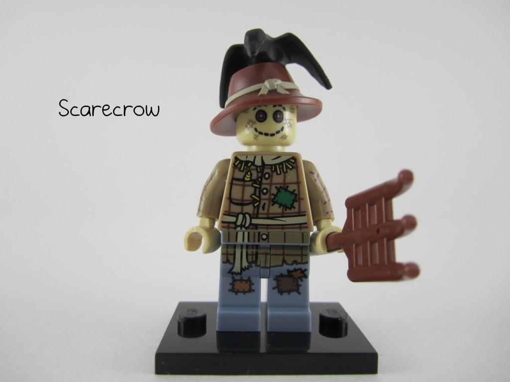 Lego Scarecrow Minifig