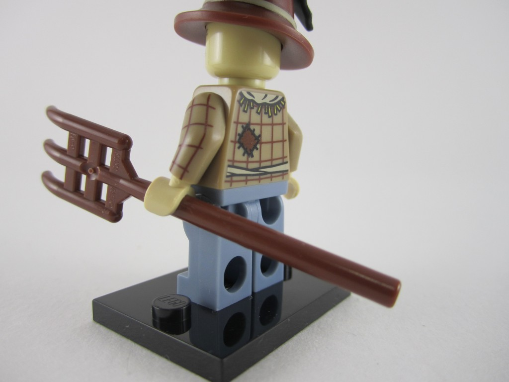 Lego Minifigures Series 11 - Scarecrow Back