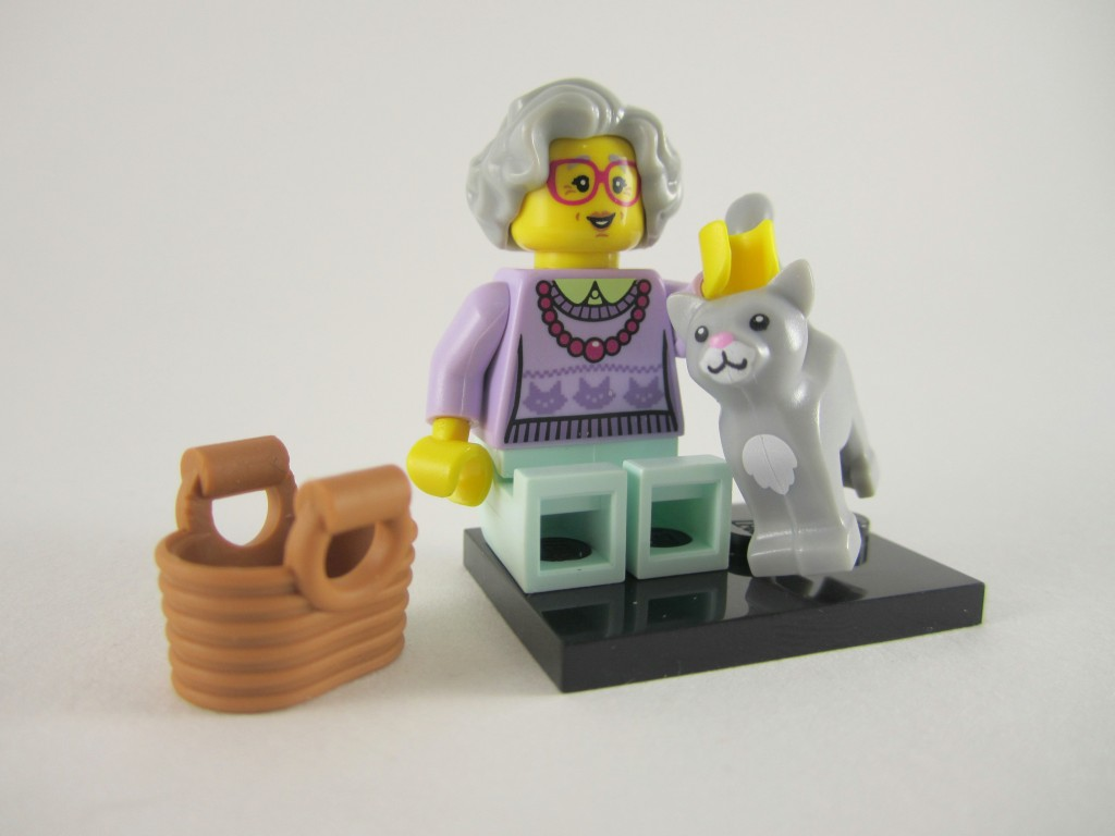 Lego Series 11 - Crazy Cat Lady