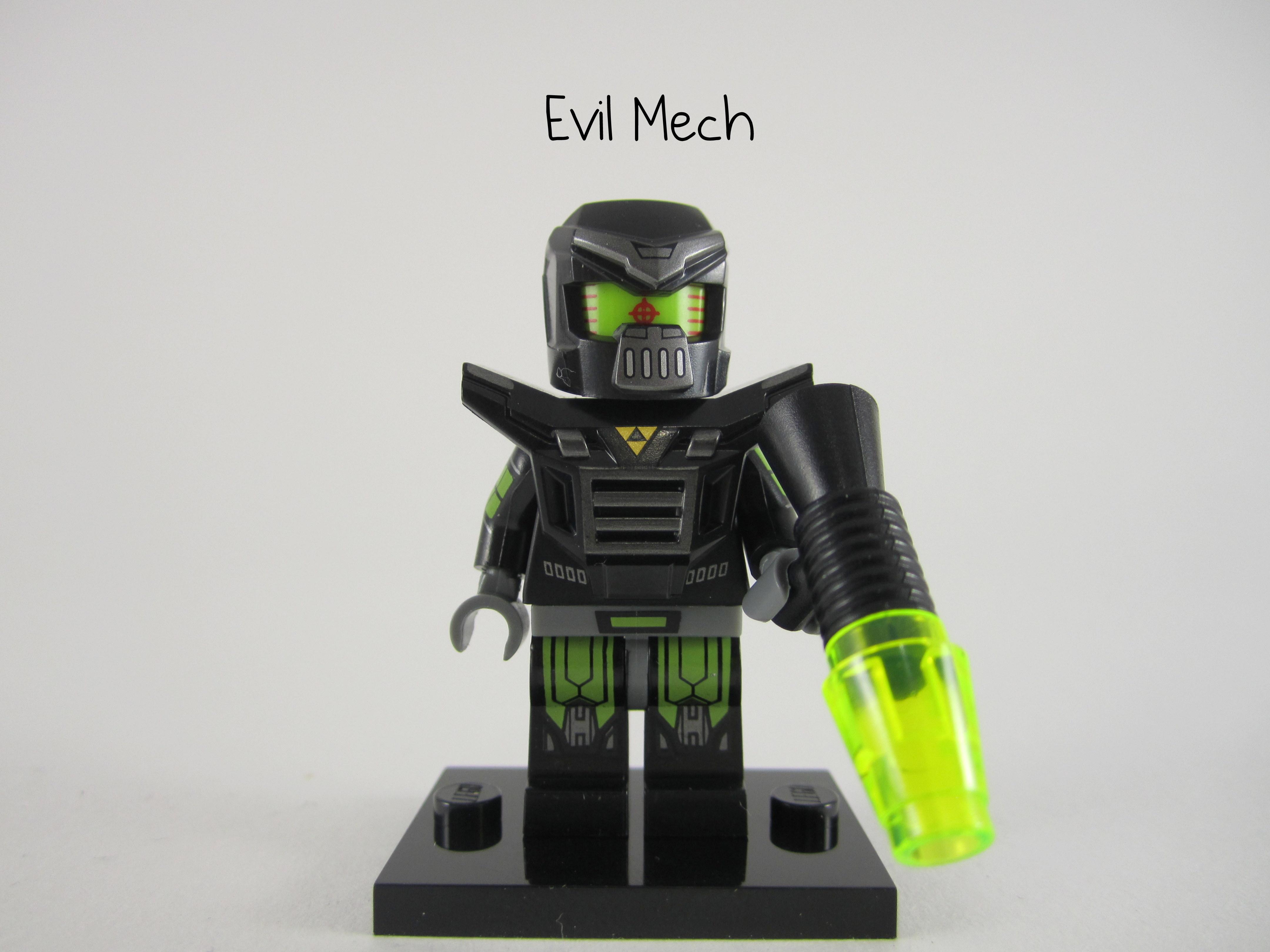 Lego minifigure Series 11 Evil Mech *New*