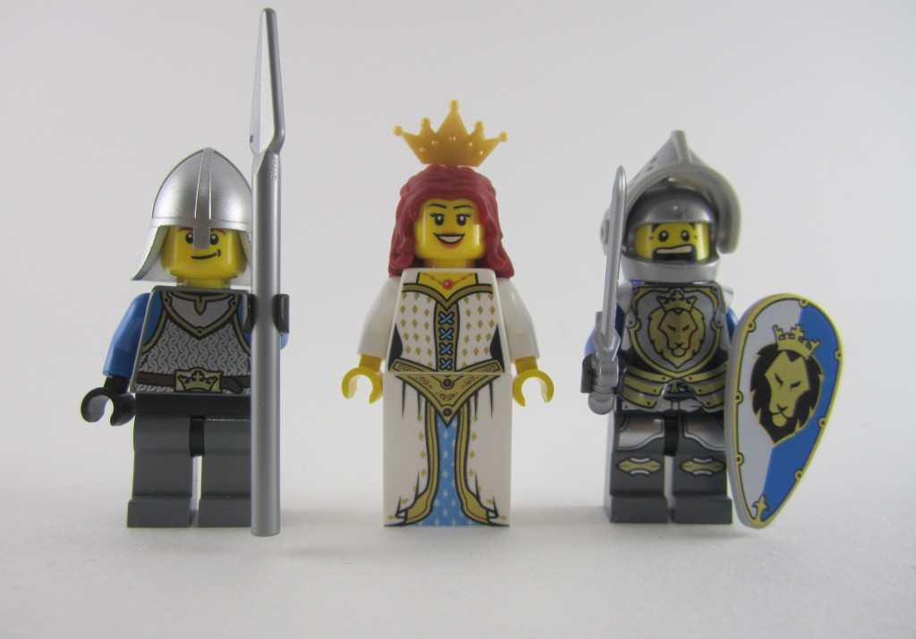 Lego 70403 - Dragon Mountain Knights Minifigs