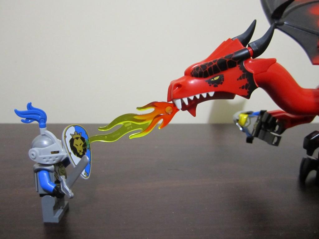 Lego 70403 - Dragon Mountain Lego Dragon (6)