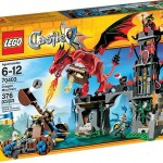Lego Dragon Mountain Box