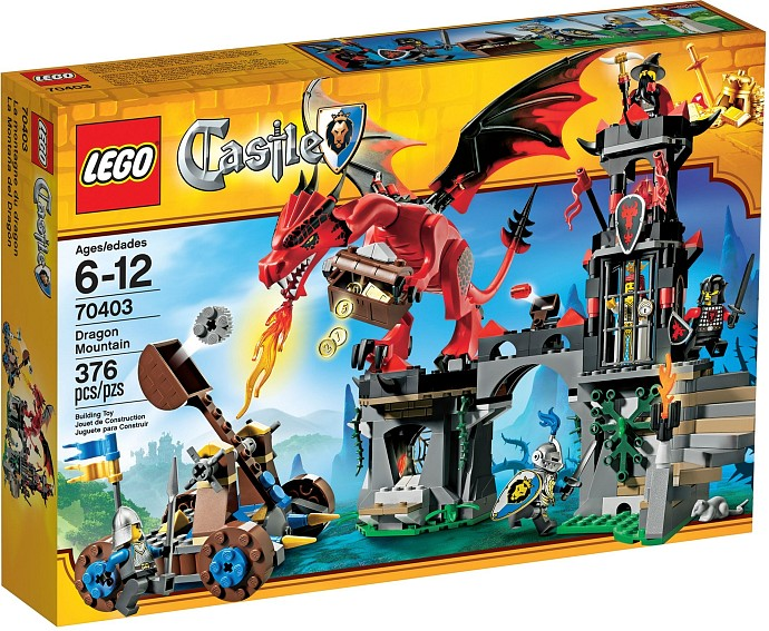 Review: Lego 70403 – Dragon Mountain