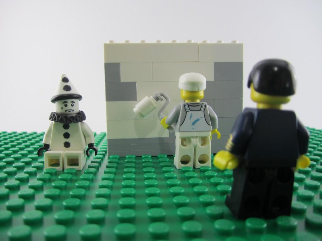 Ernest Zacharevis Lego Mural