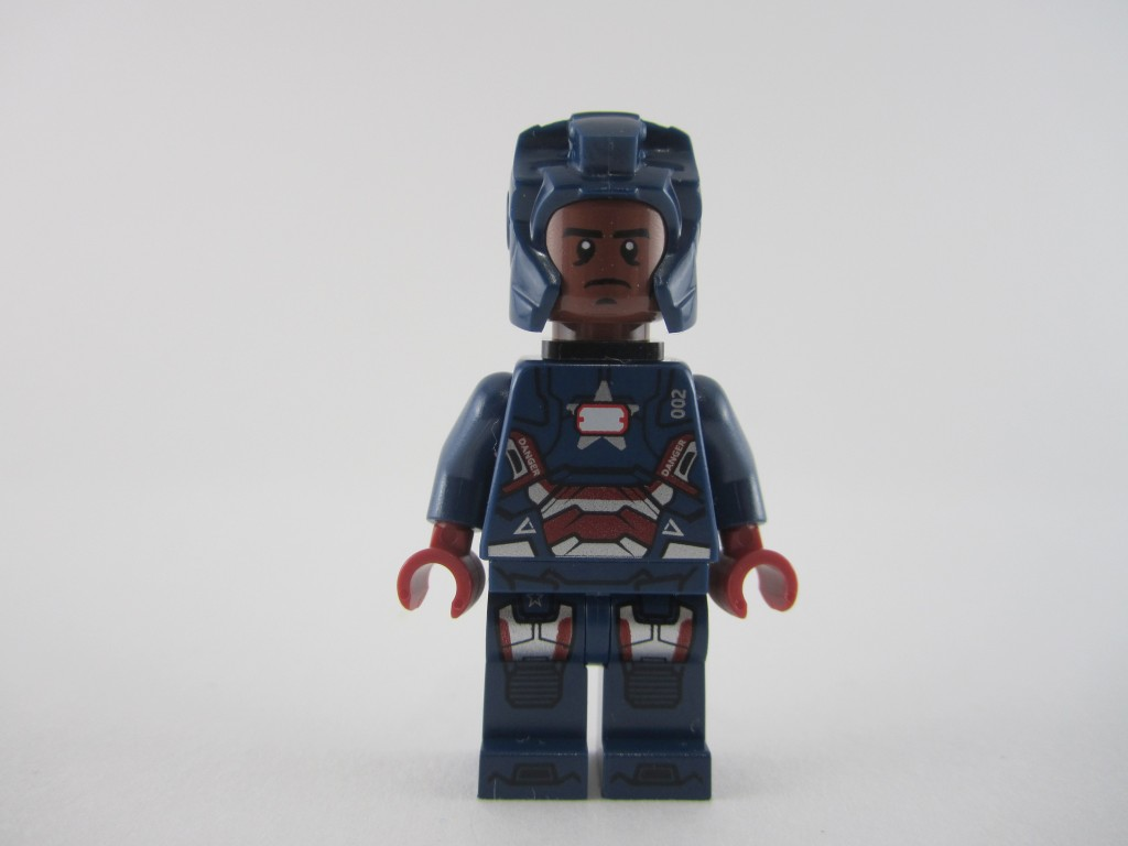 Lego Iron Patriot Minifig (11)