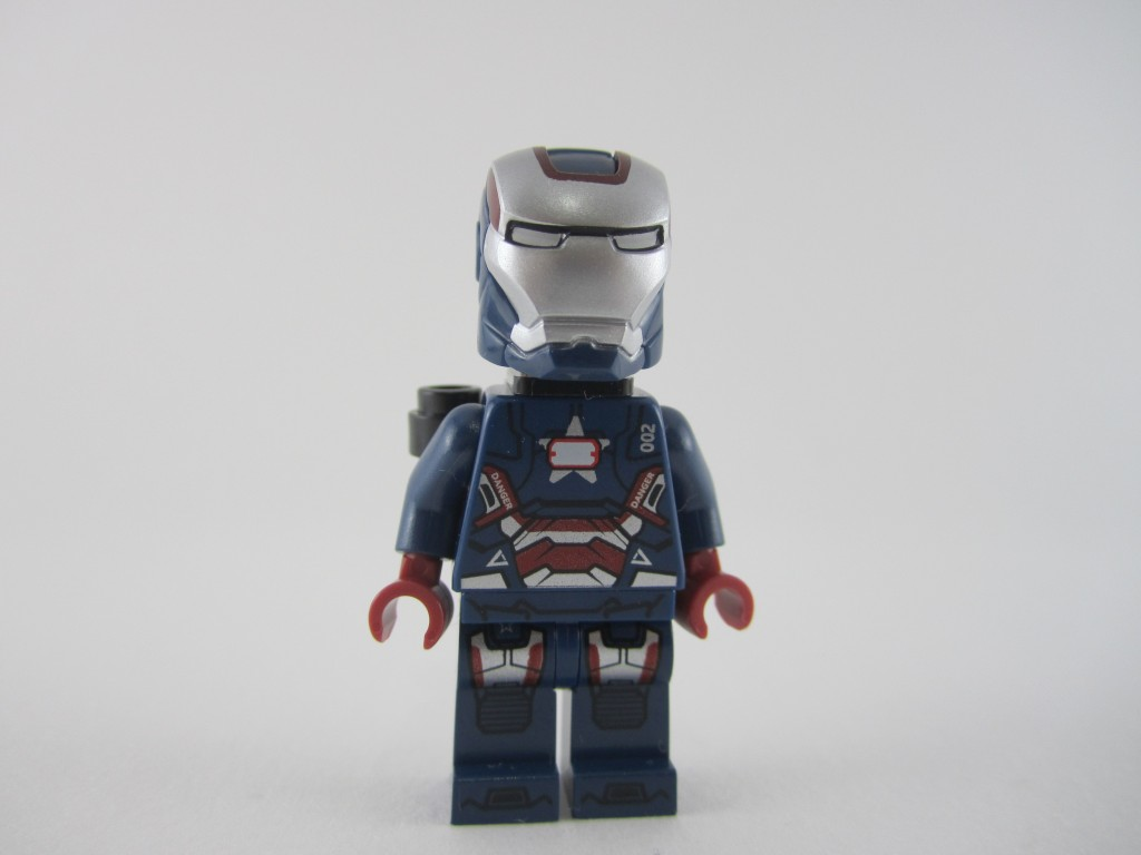Lego Iron Patriot Minifig (12)