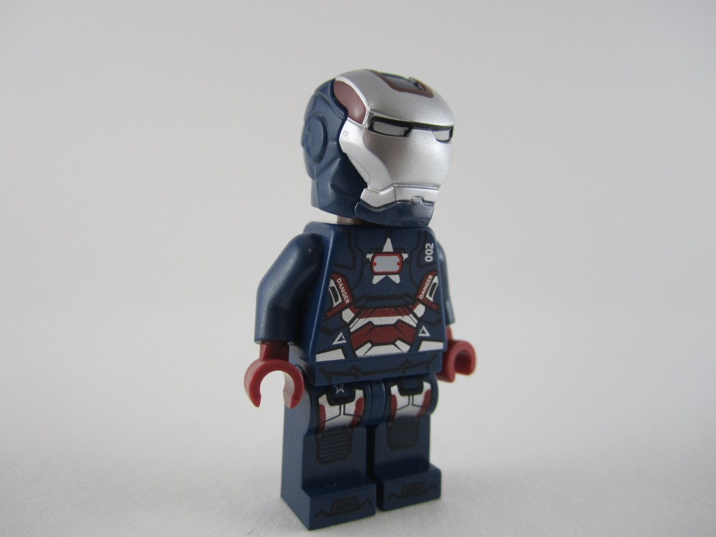 Lego Iron Patriot Minifig (19)