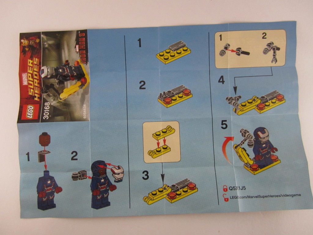 Lego Iron Patriot manual