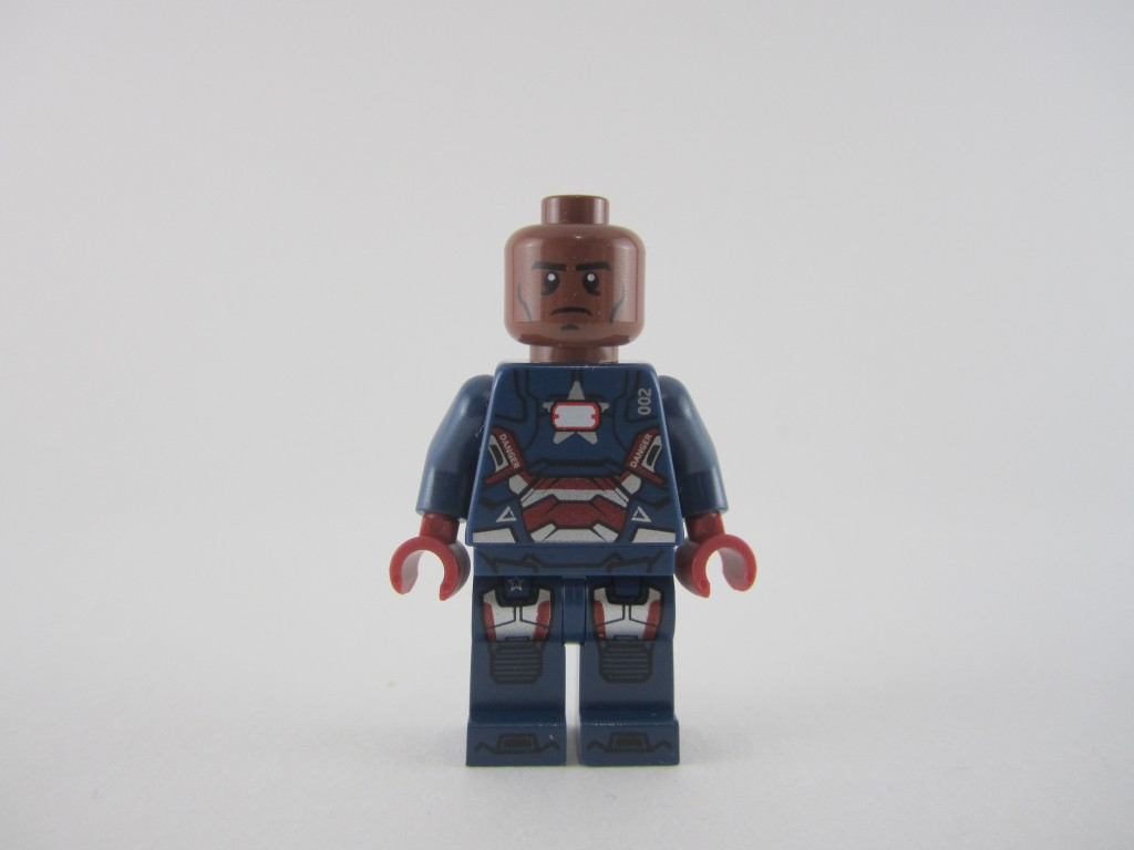 Lego Iron Patriot Minifig (9)
