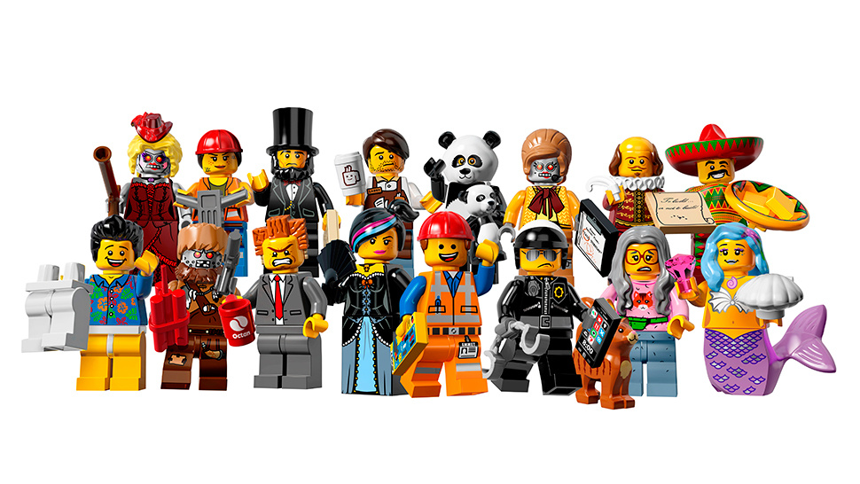 Next Lego Minifigures Series to feature The Lego Movie Characters