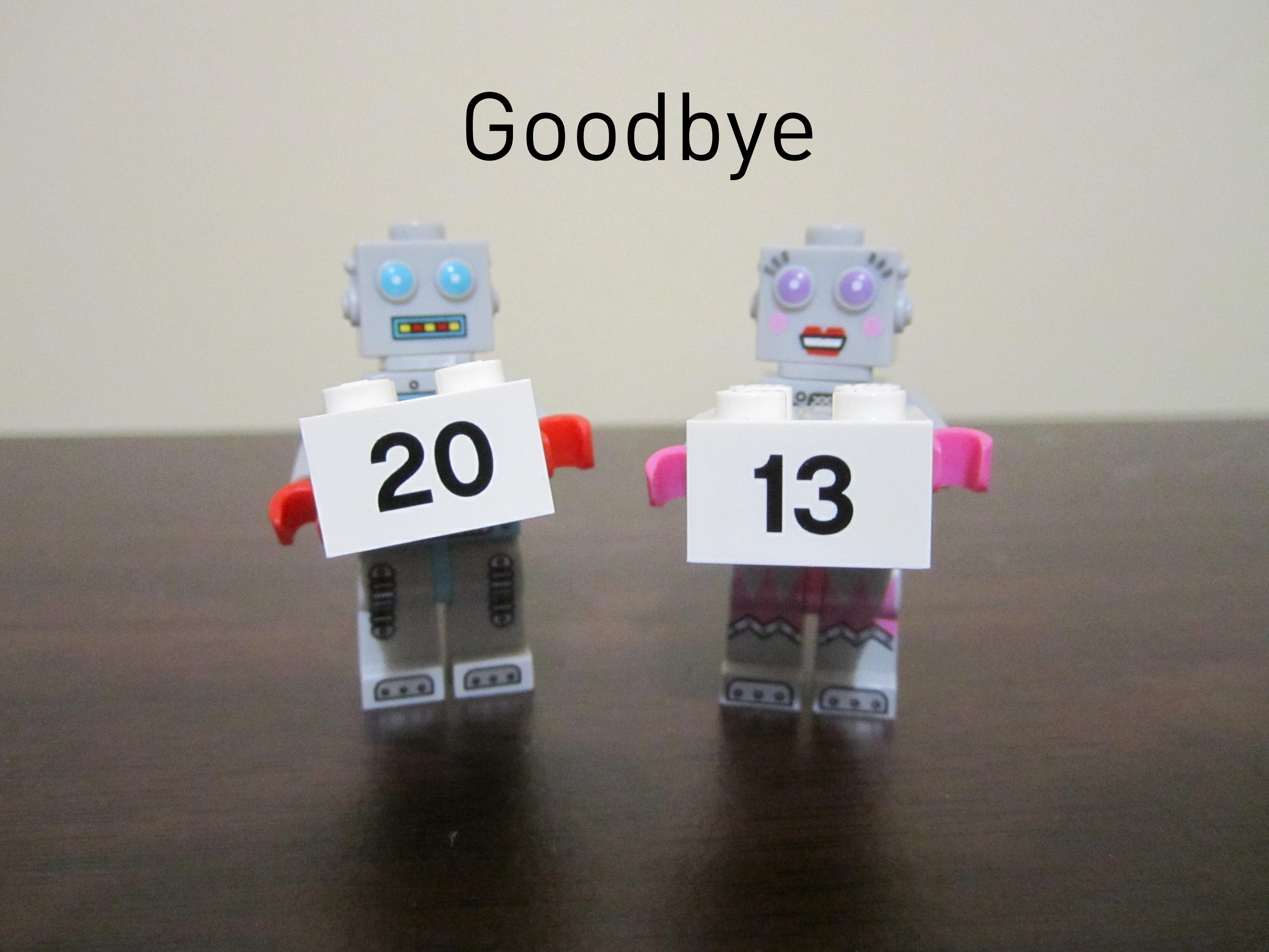 Lego 2013 Goodbye