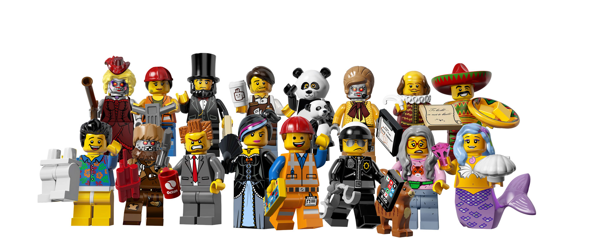 Review The Lego Movie Minifigures Part 1