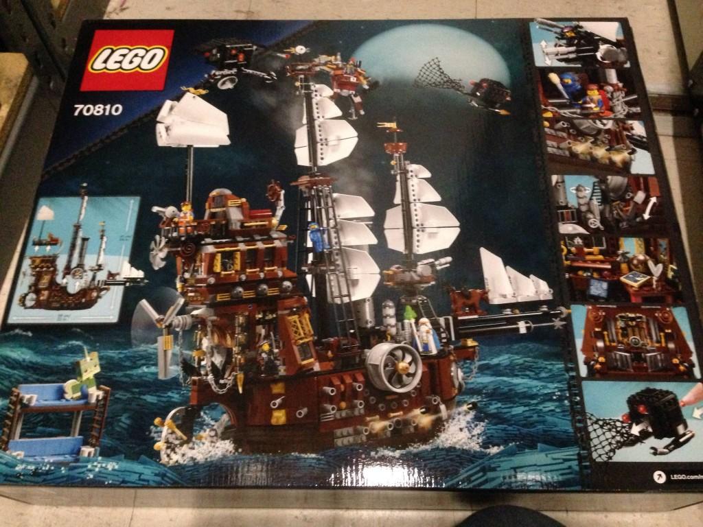 Lego Movie Metalbeard's Sea Cow Back