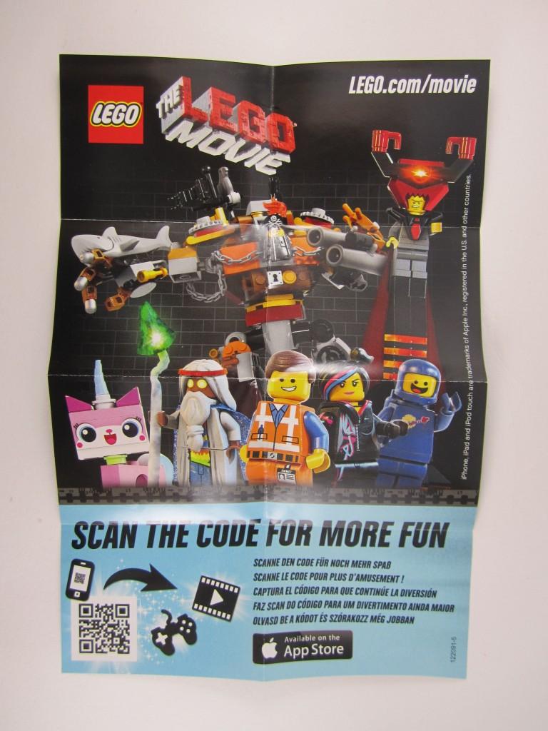 Lego Movie QR code