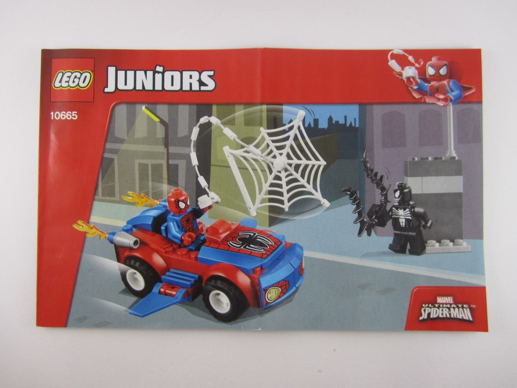 LEGO Juniors Spiderman Spider Car Pursuit Manual