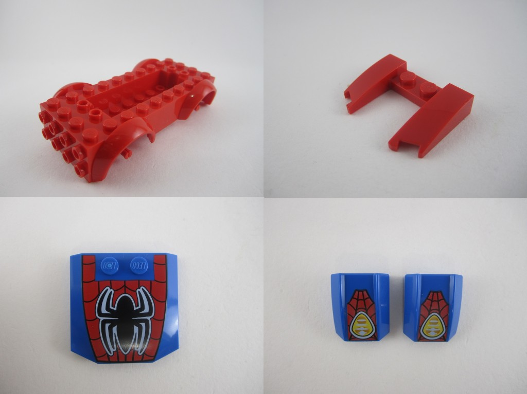 LEGO Juniors Spiderman Spider Car Pursuit New Parts