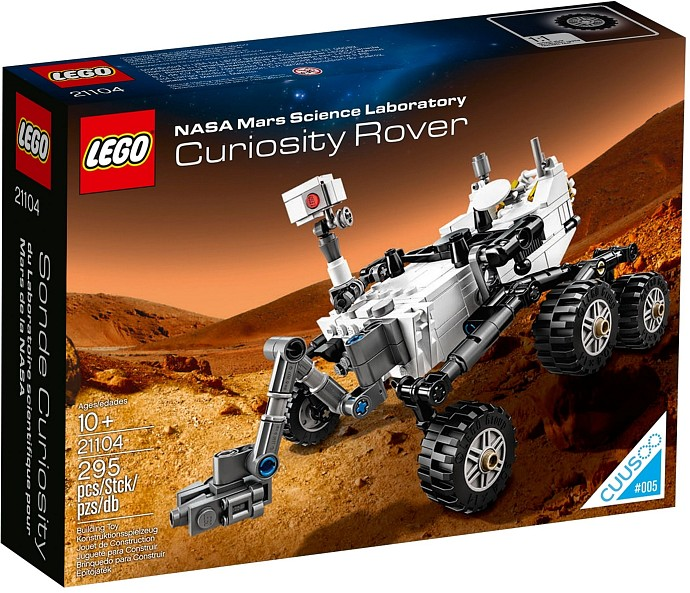 Lego 21140 Cuusoo Curiosity Rover