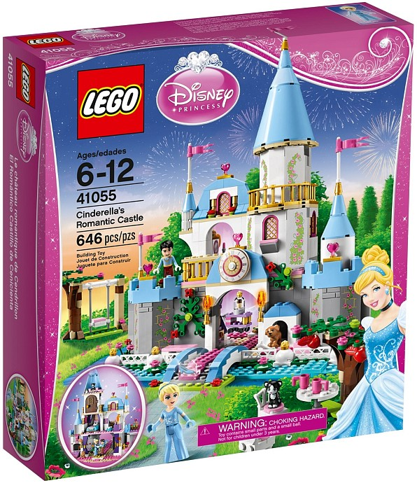 Lego 41055 Disney Princess Cinderella's Romantic Castle
