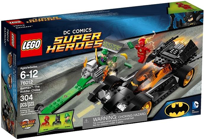 Lego 76012 Batman the Riddler Chase