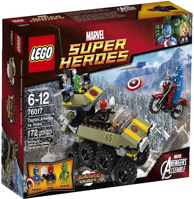 Lego 76017 Captain America vs Hydra
