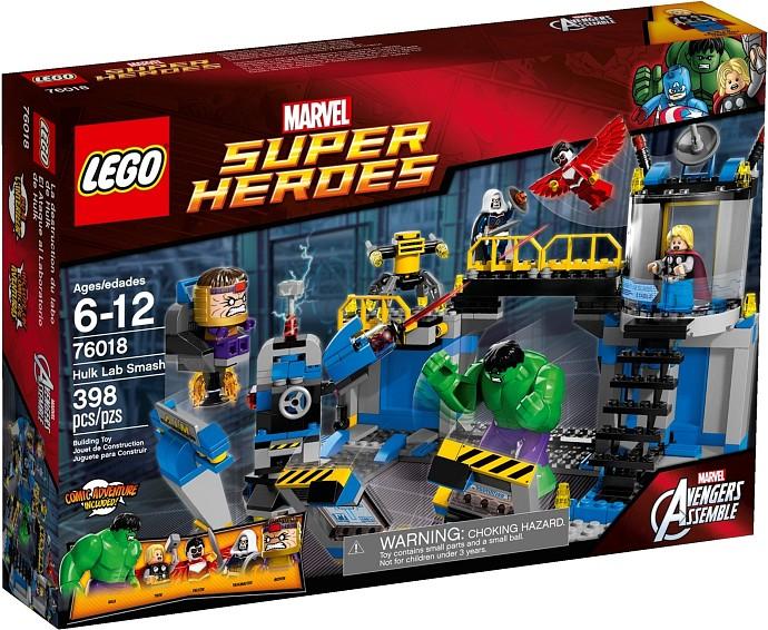 Lego 76018 Hulk Lab Smash