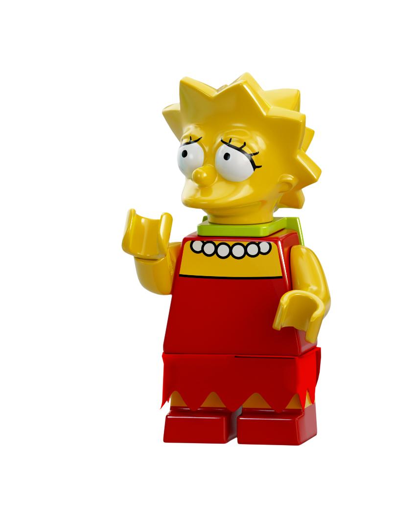 Lego Lisa Simpson Minifig