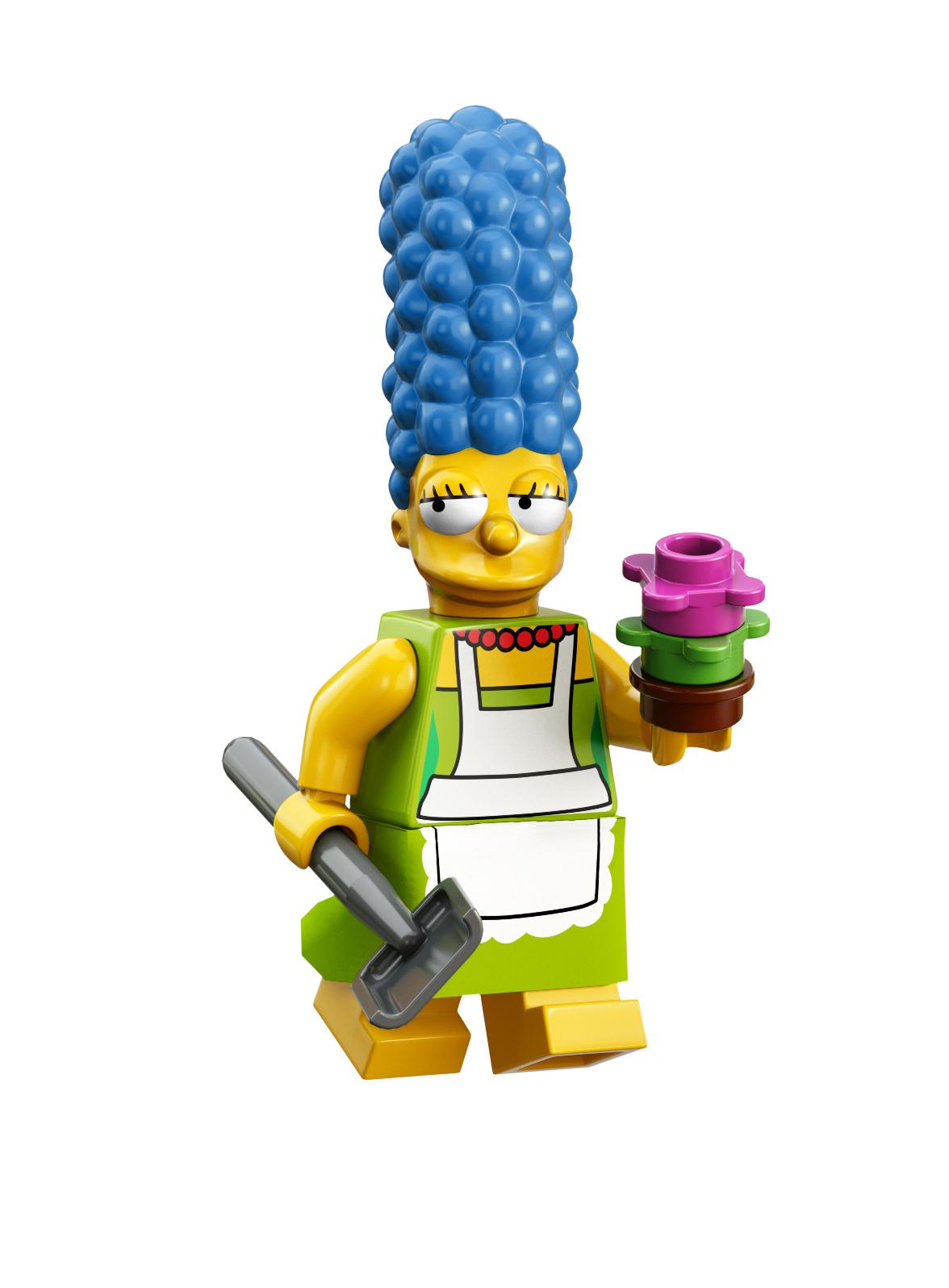 Lego Marge Simpson Minifig