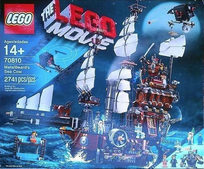 Lego Movie 70810 Sea Cow Leaked