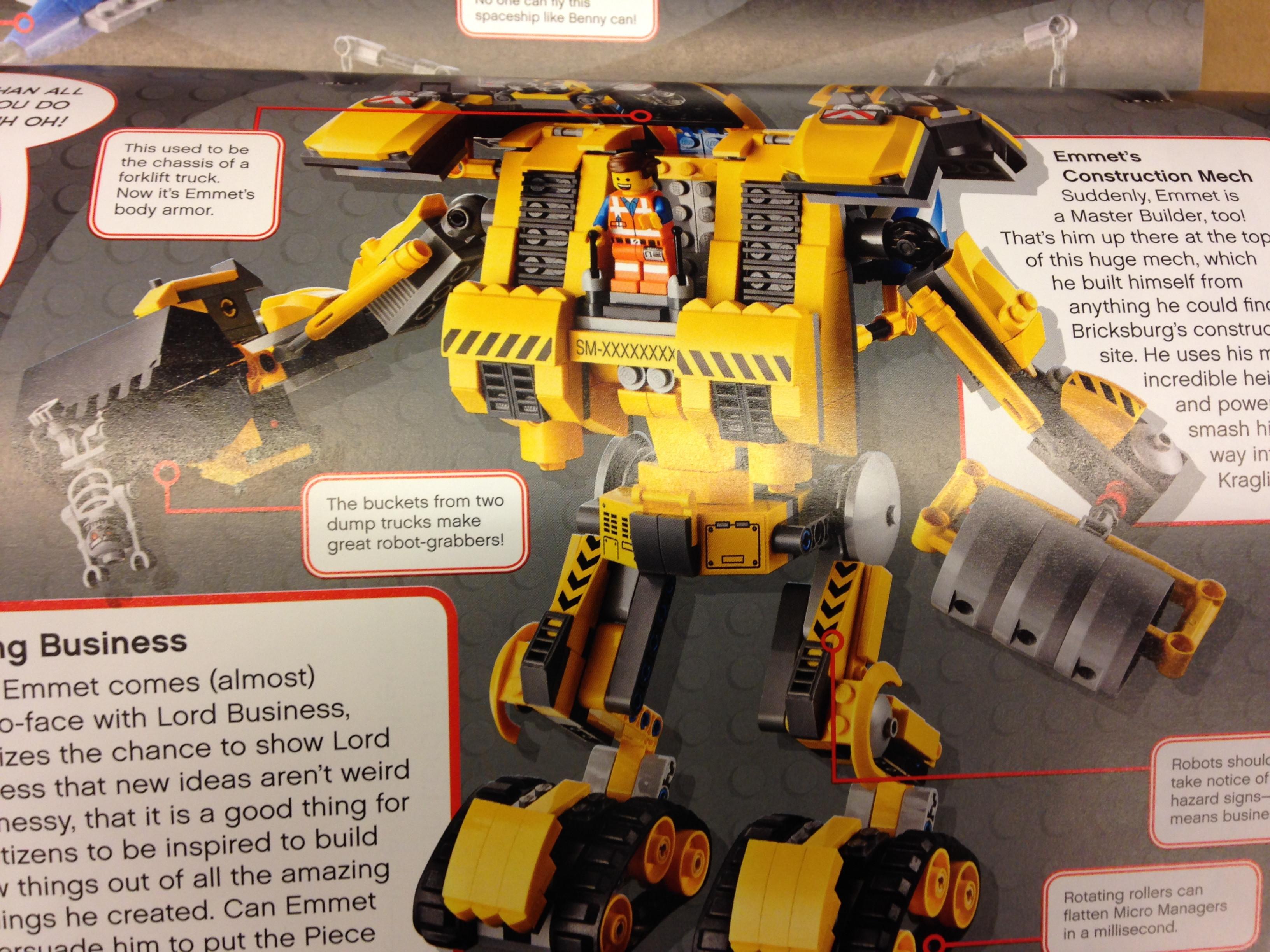 Lego Movie 70814 Emmet's Construction Mech