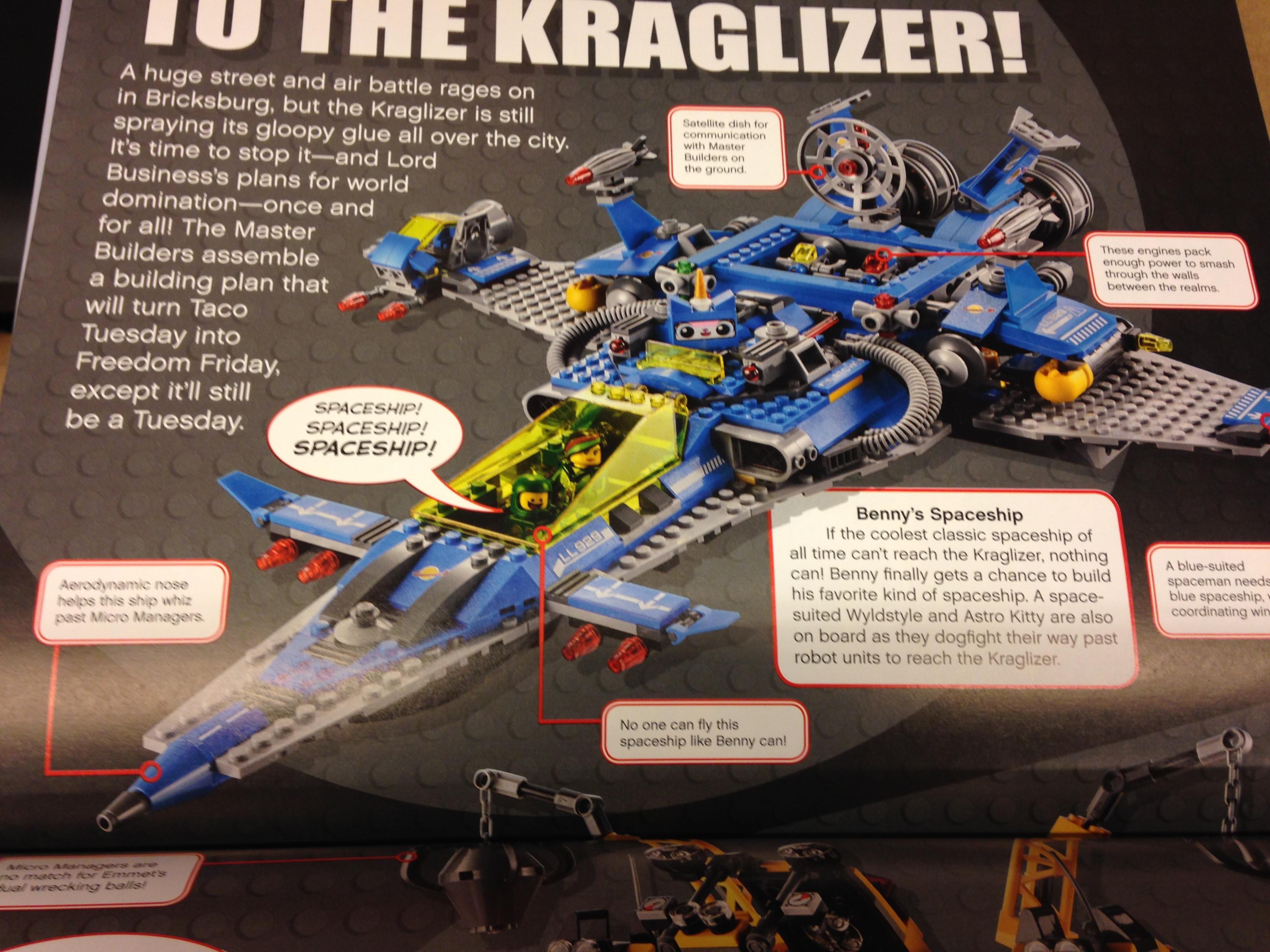 Lego Movie 70816 Benny's Spaceship