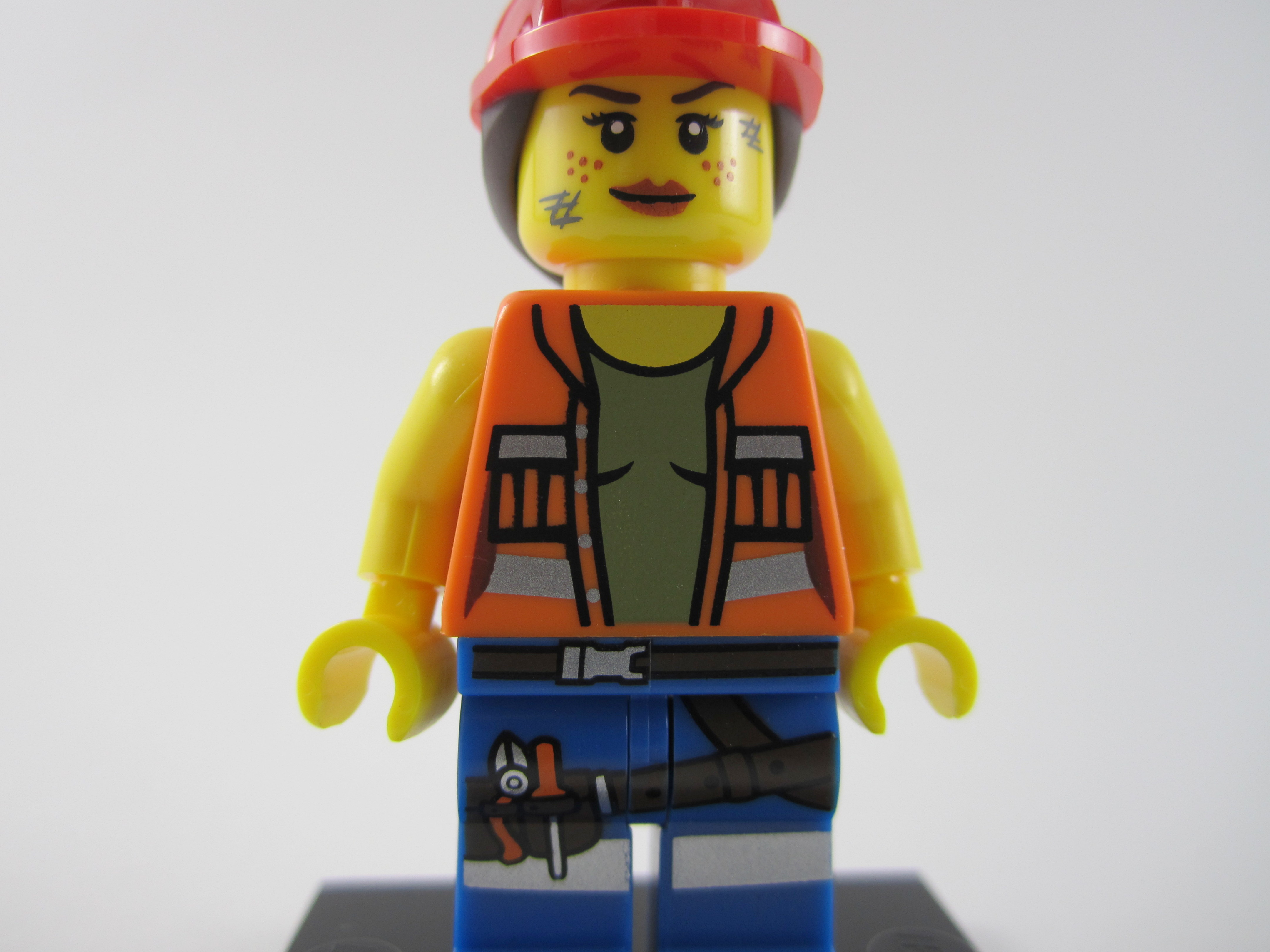 Lego Movie Gail the Construction Worker Shirt