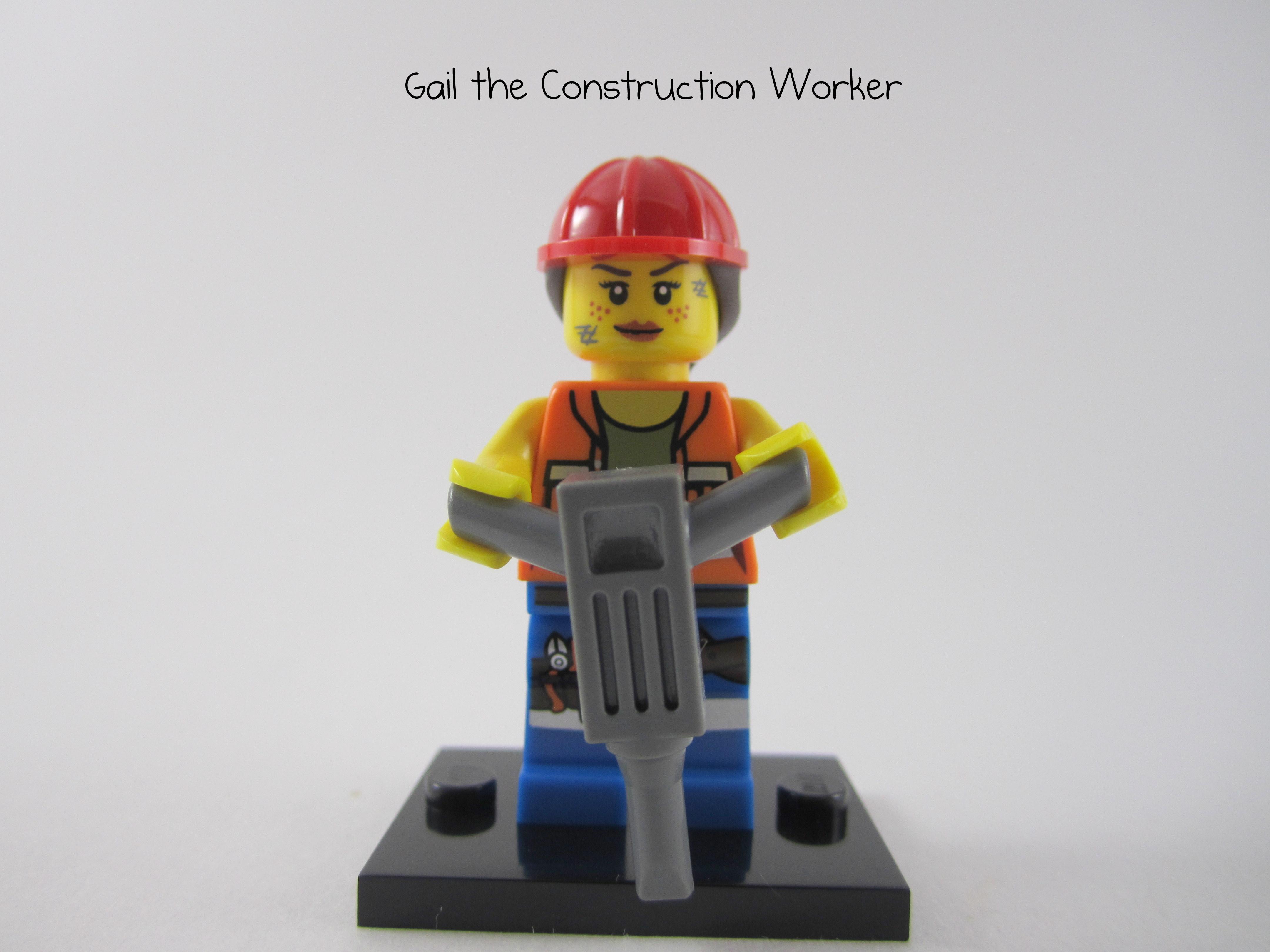 Lego Gail Minifig