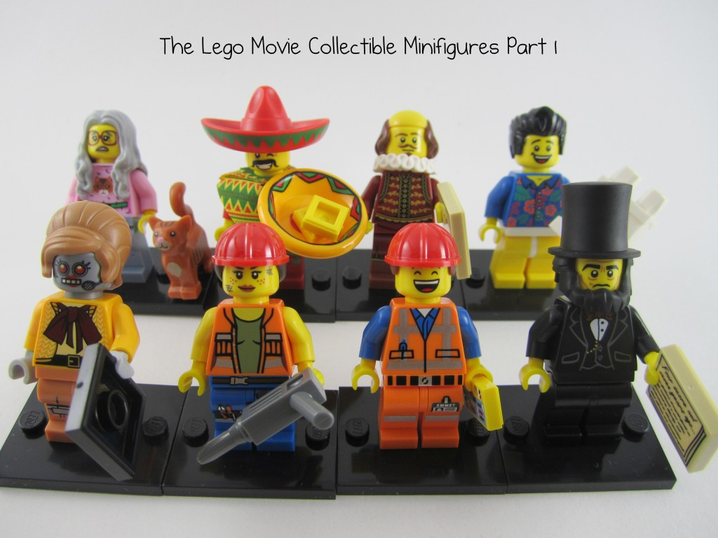 Review: The Lego Movie Minifigures Part 1