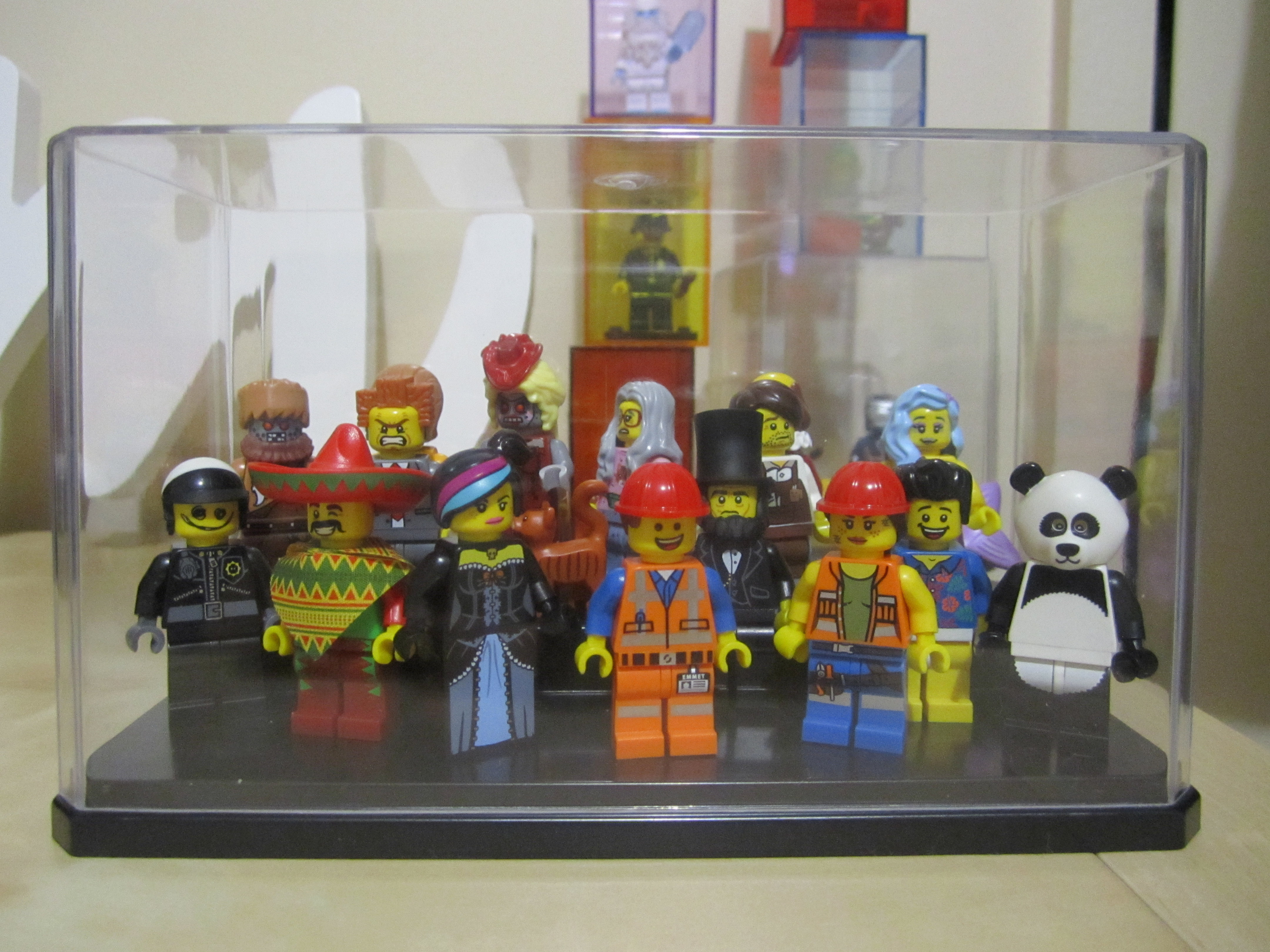 Lego Movie Minifigures Display Case