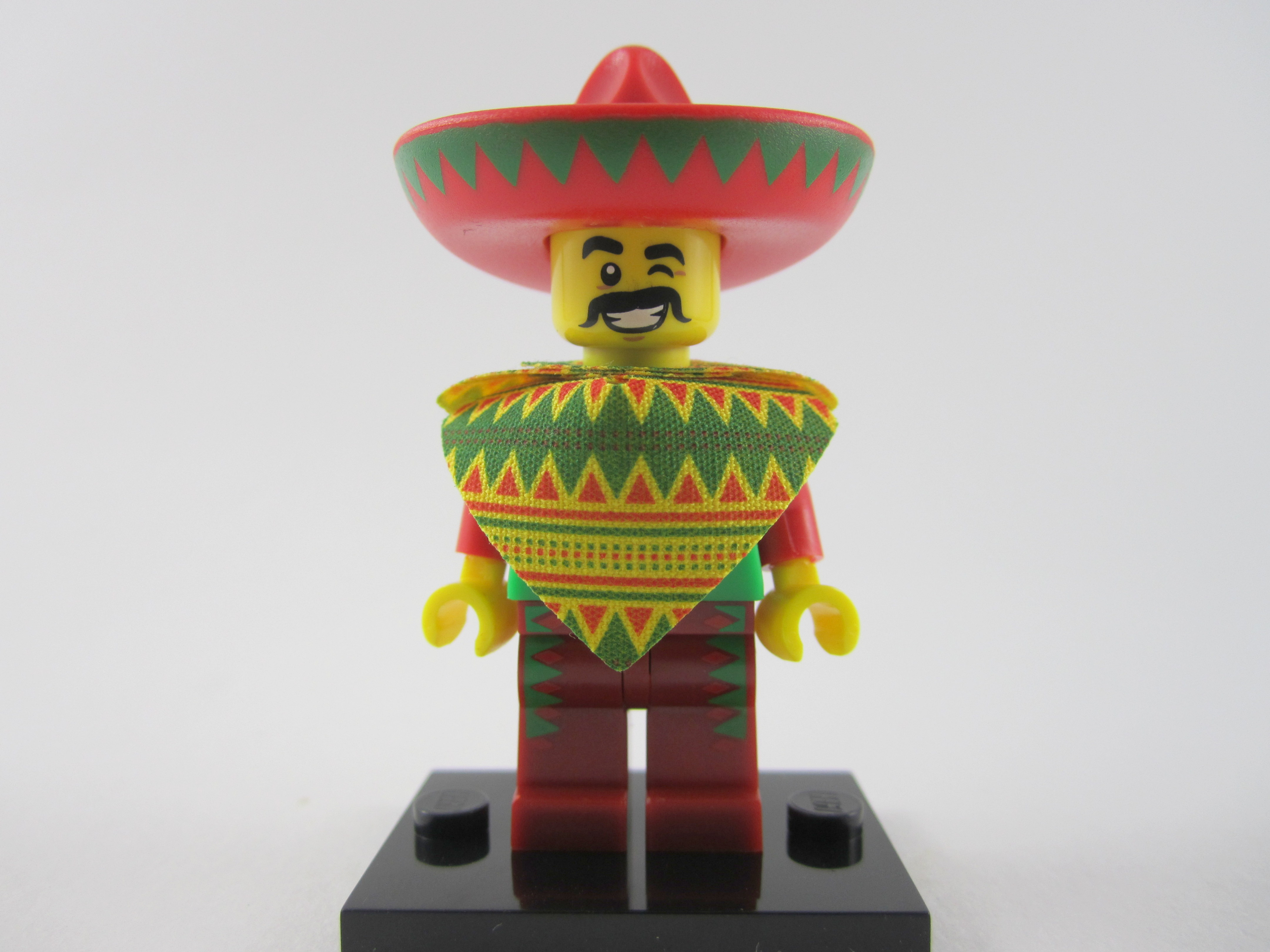 Lego Movie Taco Tuesday Man Minifig