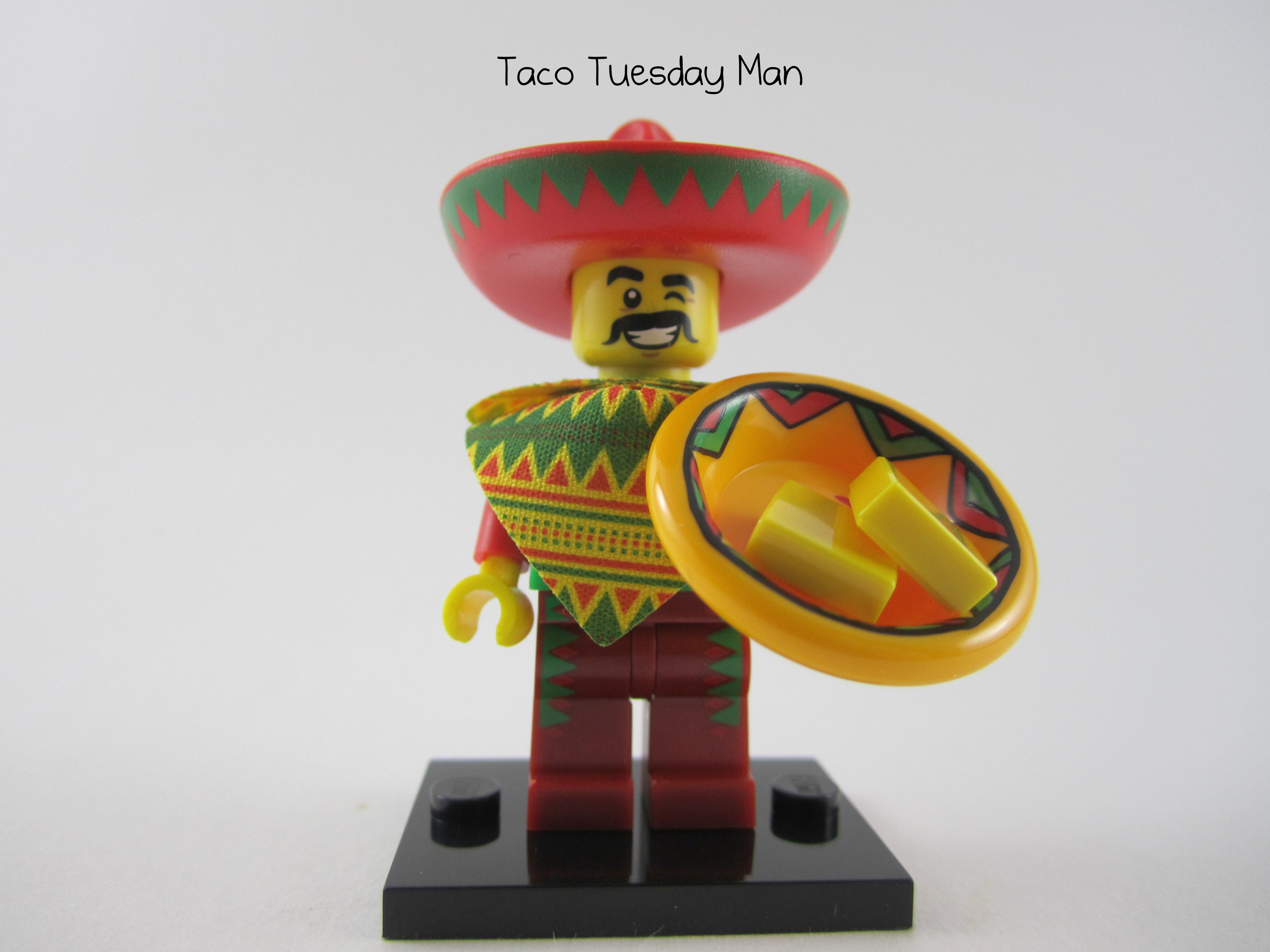 Taco Tuesday Man Minifig