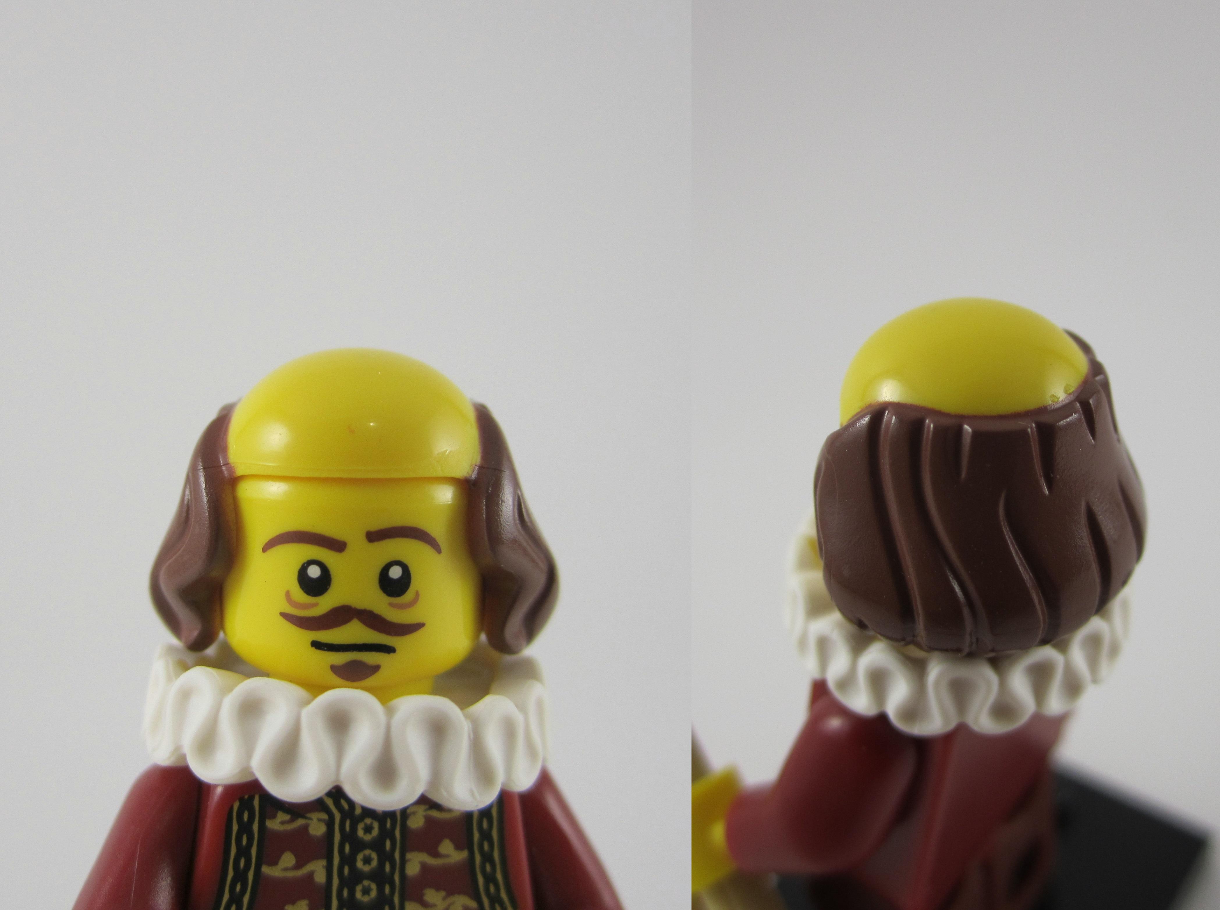 Lego Movie William Shakespeare Head 2