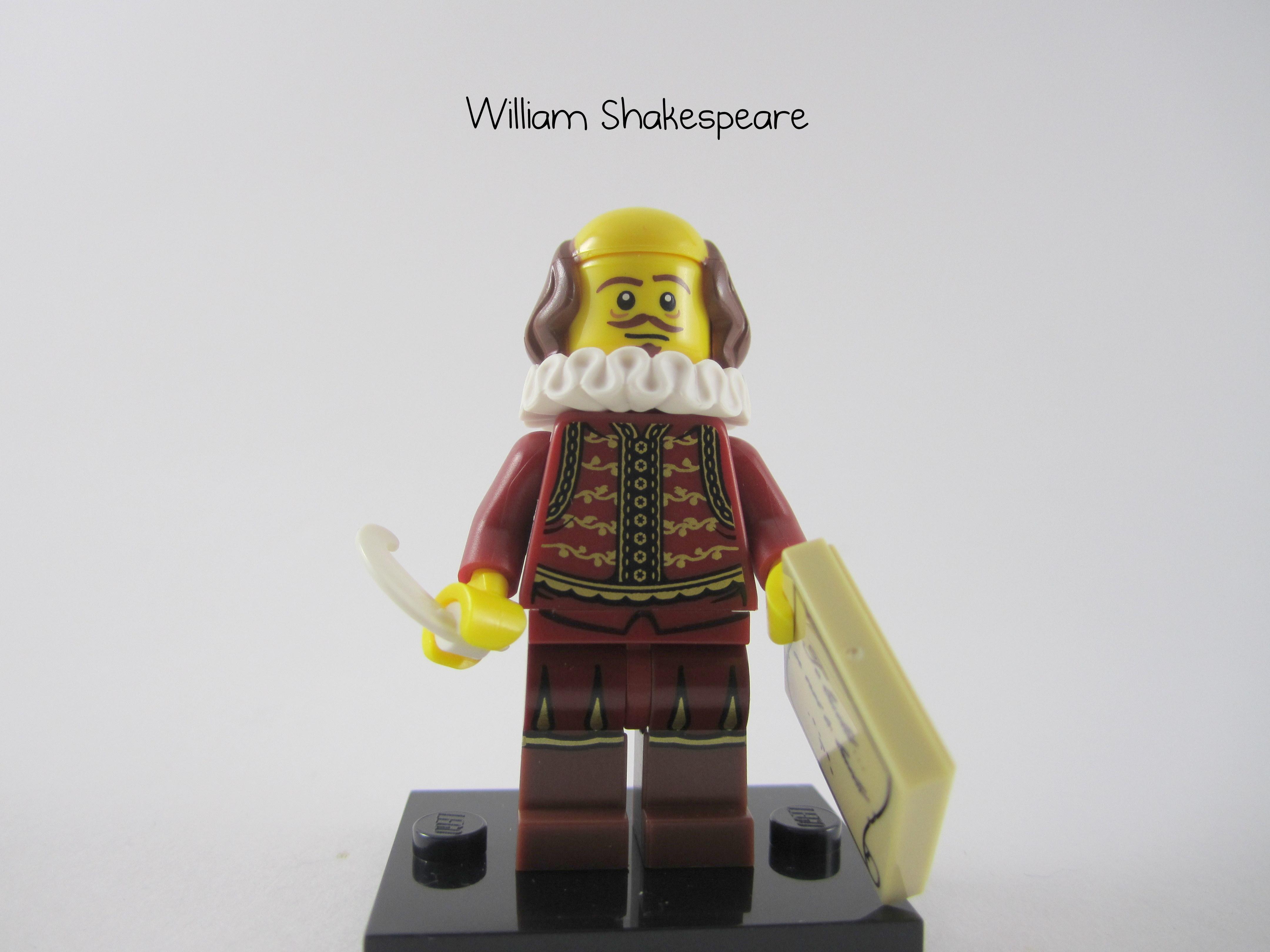 William Shakespeare Minifig