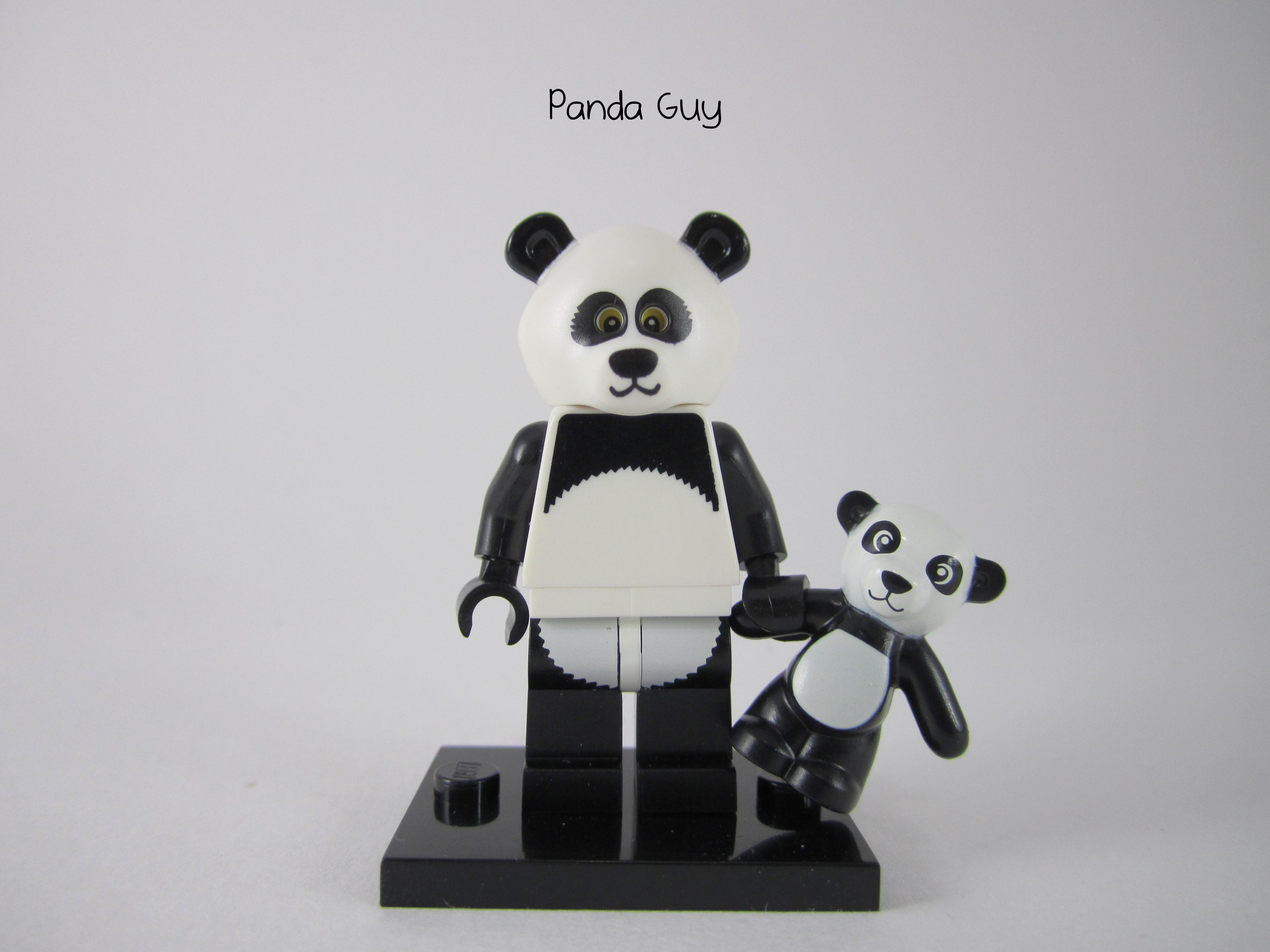 Panda Man Minifig