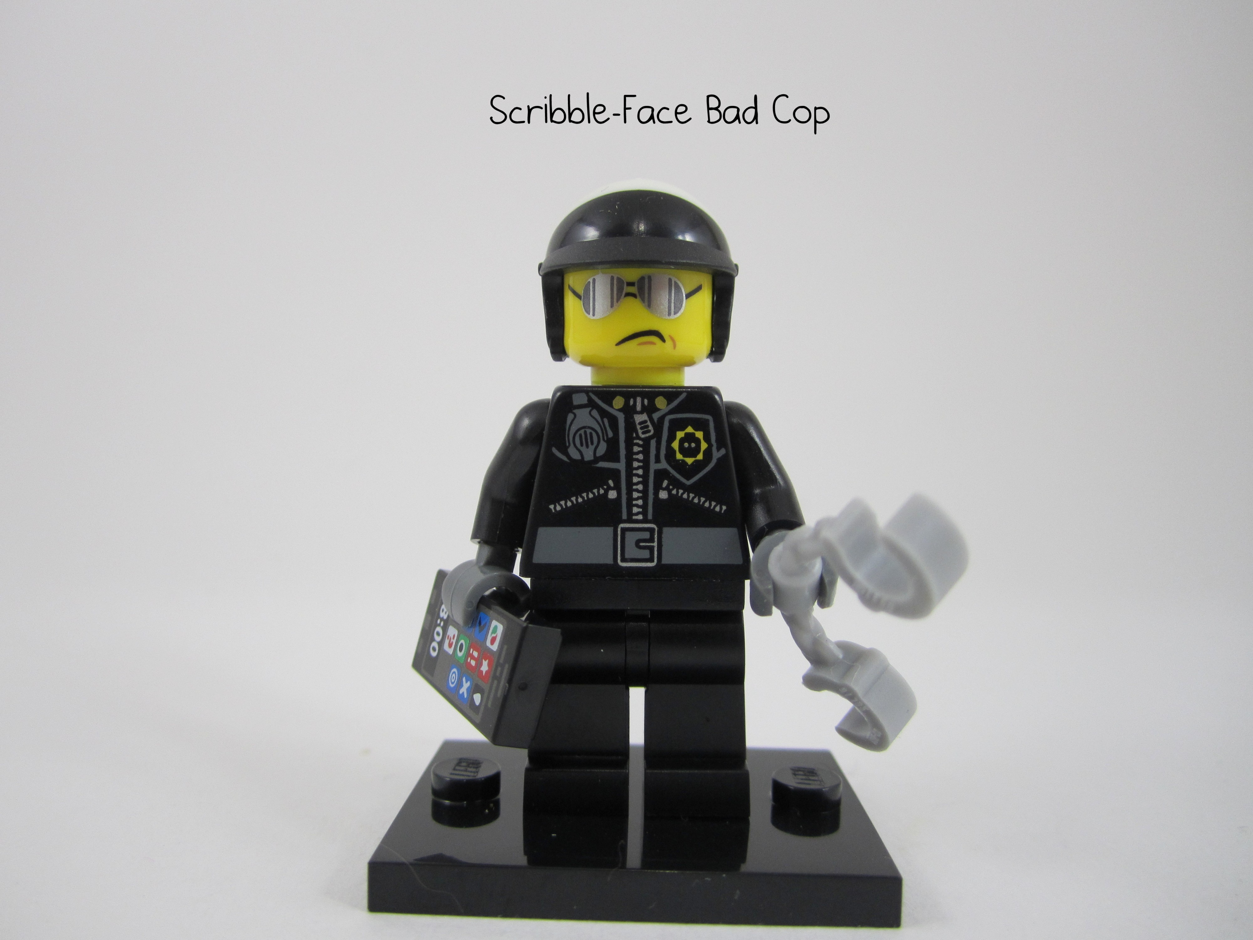 Lego Scribble Face Bad Cop
