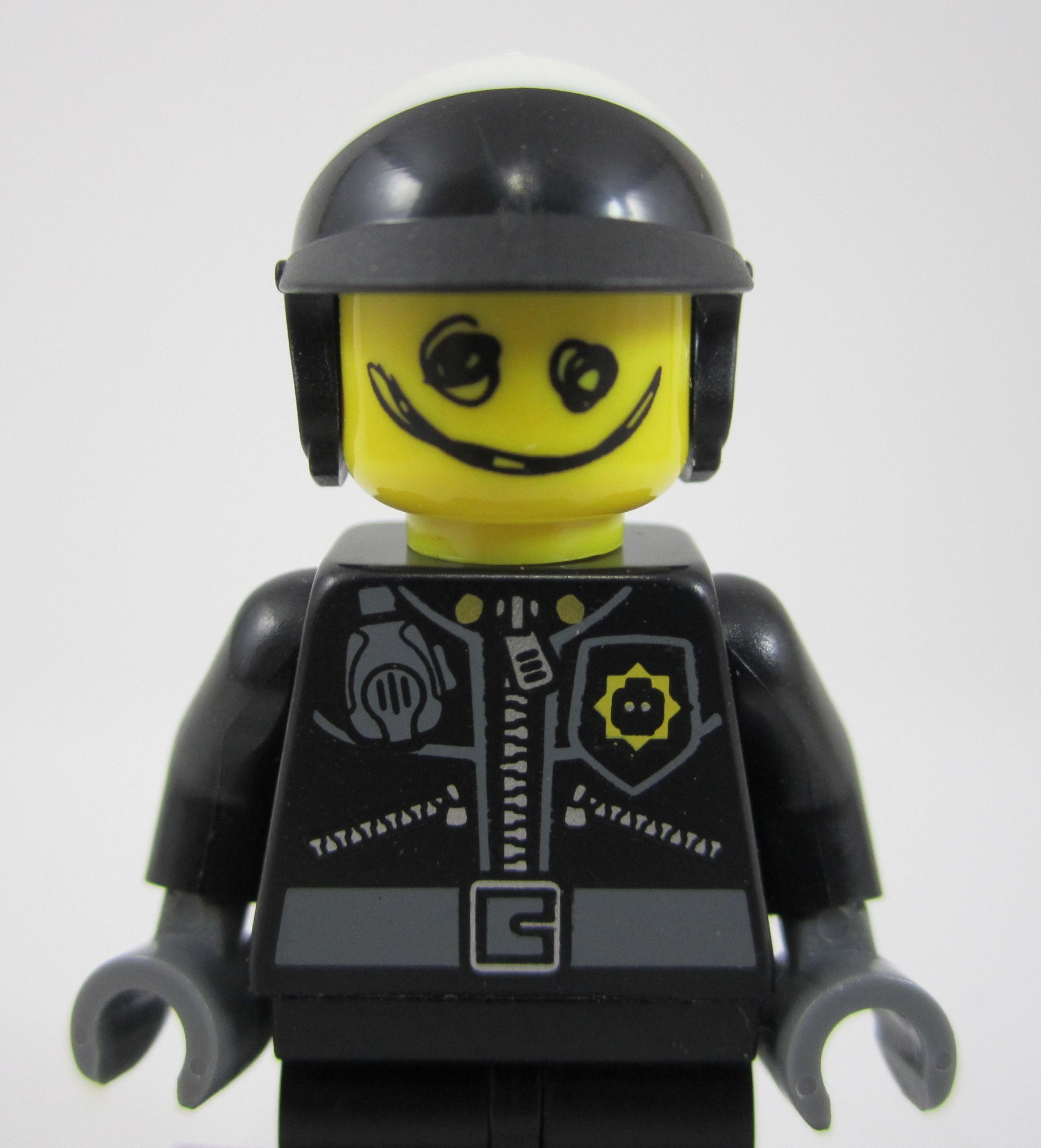 Lego Scribble Face Cop