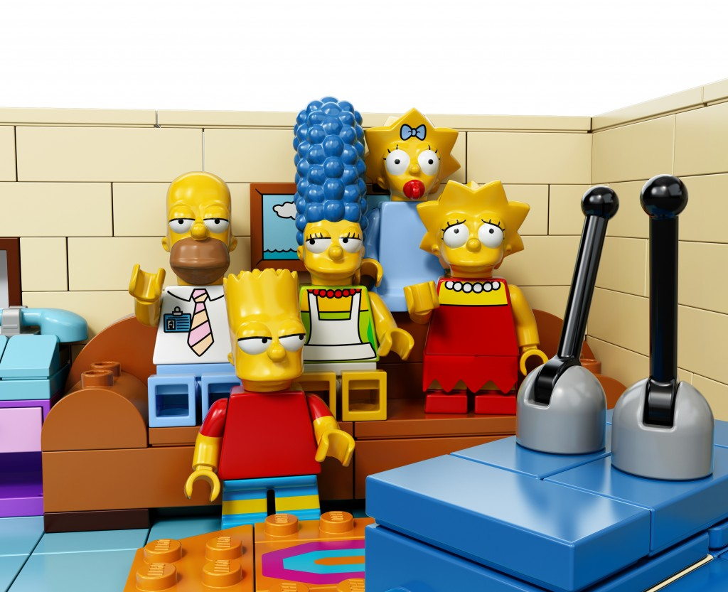 Lego Simpsons Couch